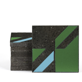 Magma Naine B Pattern Tiles - Grass