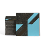 Magma Naine B Pattern Tiles - Turquoise
