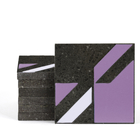 Magma Naine B Pattern Tiles - Violet