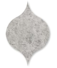 Silvero Marble Winter Leaf Pattern Tiles