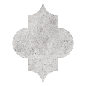 Silvero Marble Arabesque Pattern Tiles