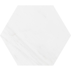 Snow White Marble Hexagon Tiles