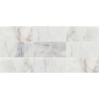Avalon Marble Rectangle Stack Bond Pattern Mosaic