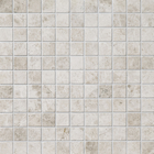 Silvero Marble Square Stack Bond Pattern Mosaic