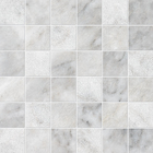 Alloy Marble Square Stack Bond Pattern Mosaic