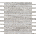 Silvero Marble Rectangle Brick Bond Pattern Mosaic