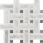 Silvero Marble Lattice Pattern Mosaic