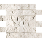 Diana Royal Marble Rectangle Rock Face Pattern Mosaic