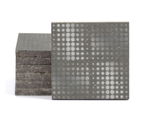 Magma Eleide Pattern Tiles - Lead
