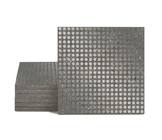 Magma Micros Pattern Tiles - Lead
