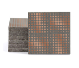 Magma Eleide Pattern Tiles - Copper
