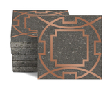Magma Eleos A Pattern Tiles - Copper