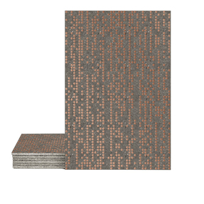 Magma Infine Pattern Tiles - Copper