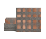 Magma Micros Pattern Tiles - Copper